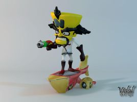 Neo Cortex  Crash Twinsanity by Vidal-Design