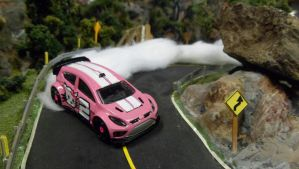 Drifting Hello Kitty Fiesta #2 by hankypanky68