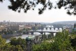 Prague's bridges by Caliopi