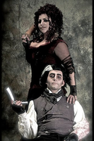 Sweeney Todd and Mrs Lovett Costumes by LynZtheMaddTatter