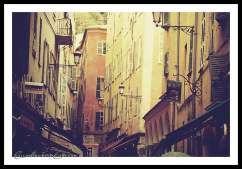 unknown french street by soychaitea