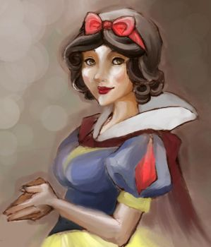 Snow White Revised by zombiesoup