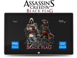 Assassin's Creed IV Black Flag Icon by Ni8crawler