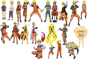 Naruto forms by Shiranator1