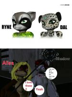 Alisa and shadow comments on ryne and dal by Justicedog337