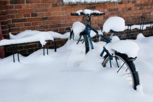 Cold Bike by Robbanmurray
