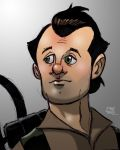 Venkman Sketch Colored by Kenpudiosaki