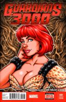 Xev bust sketch cover by gb2k