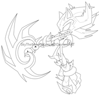 Shadow Reaper-Lineart by Fly-Sky-High