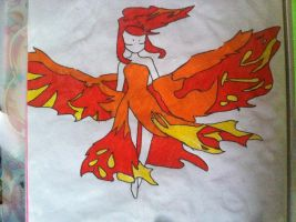 Moltres Pokemon person ^^ by Sparklexter