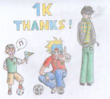 thank you for the 1K pageviews by mangalori