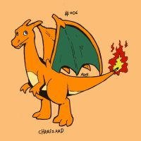 006 Charizard by toadcroaker
