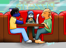 Pizza Lunch by kyro909