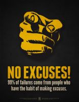 No Excuses! by luvataciousskull