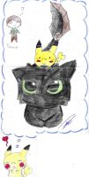 Toothless and me by dianakudai27
