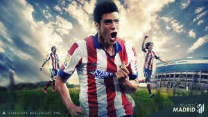 Atletico Madrid 2014/15 Wallpaper by AlbertGFX