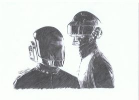 Daft Punk by aangeel