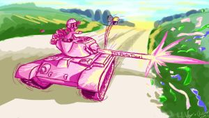 Pinkie Pie's Party Patton by Zeeclaw
