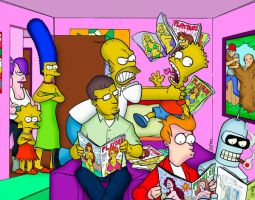 In the Simpson universe by Dyslexic-Ferret