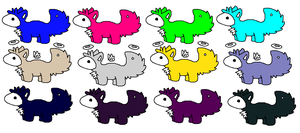 Free Baby Chlorix Adopts ..::OPEN::.. by love-the-adopts