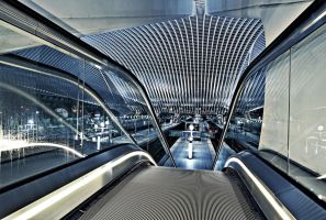 Staircase - Liege-Guillemins I by ThomasHabets