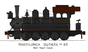 Pennsylvania Southern No. 815 by Atticus-W