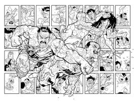 Viltrumite FIGHT inks by RyanOttley
