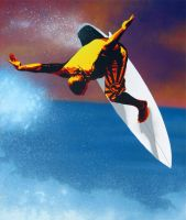 Sunset Surfer: Andy Irons by Gcrackle1