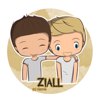 Zayn and Niall by xriannne
