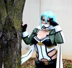 GGO: Sinon the Sniper by CelestialYoru