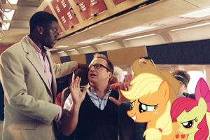 AJ and Bloom Onboard The Soul Plane by RicRobinCagnaan