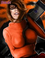 Velma Dinkley Painting By Adam Daly by AdamDalyOnline