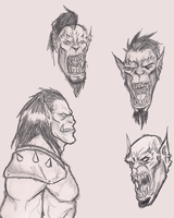 OrcFaces by OnHolyServiceBound