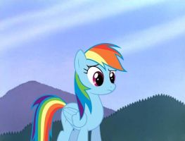 Rainbow Dash Wat by Gluteek
