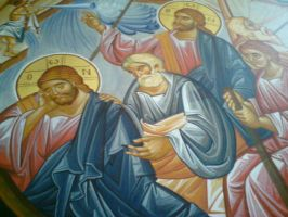 Wall painting in church 6 by HippieCase