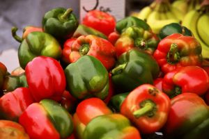 Bell Peppers by froggynaan