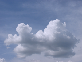 Puffy Cloud by WDWParksGal-Stock