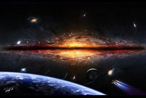 - Supermassive Galaxy - by RMirandinha