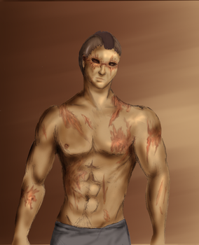 Finbar scar practice by the-sneaky-burger