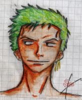 Zoro sketch by NitoryuSora
