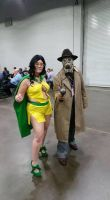 phantom lady and sandman by metal-otaku