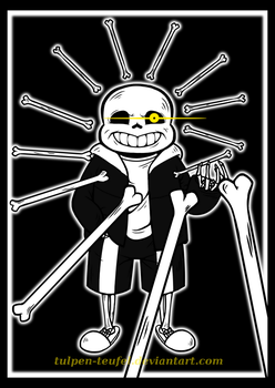 Undertale - Bad Time, 777th deviation. How ironic. by Tulpen-Teufel