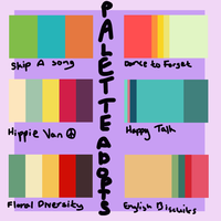 Palette Adopts 1 [3/6 OPEN] by StarlightGift-Adopts