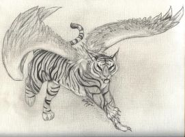Rei's Tiger Form by mrinx