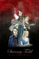 Sweeney Todd Poster by Stradiwhovius