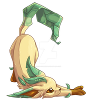 Leafeon by Keshi-Commish