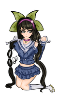How to tie hair 101 ~( v 3 v )~ by Discolourful