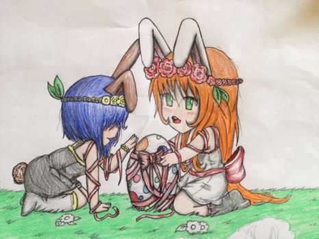 Happy Easter!!~ by Pacifica666