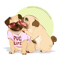 Pug Life by Solely-Sabotage