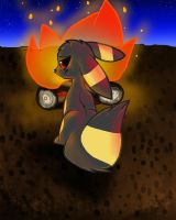 Campfire by LuneTheUmbreon
